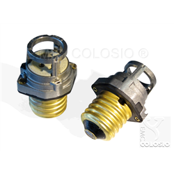 Adapters + Lampholders for discharge lamps PGZ12 + E39 Adapters + Edison screw lampholder E39 + PGZ12 M204/A91H