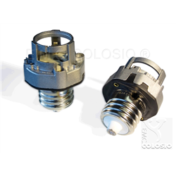 Adapters + Lampholders for discharge lamps PGZX18 + EX39 Adapters + Edison screw lampholder EX39 + PGZX18 M204/A93XH