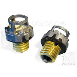 Adapters + Lampholders for discharge lamps PGZX18 + E40 Adapters + Edison screw lampholder E40 + PGZX18 M206/A93XH