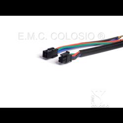 4 P Ma+Fe Micro Fit Molex M07M4 - M07F4