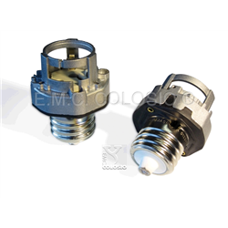 Adapters + Lampholders for discharge lamps PGZX18 + EX39 Adapters + Edison screw lampholder EX39 + PGZX18 M204/A93XH.
